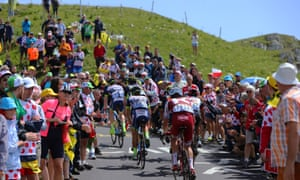 Cyclists in this year's Tour de France gave Eddie Jones food for thought about improving fitness levels in his England squad.