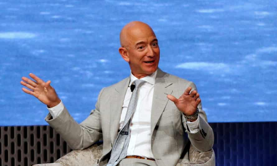 Jeff Bezos, the world's richest man, pictured last year.