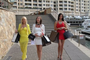 An image from the Australian reality TV show Yummy Mummies