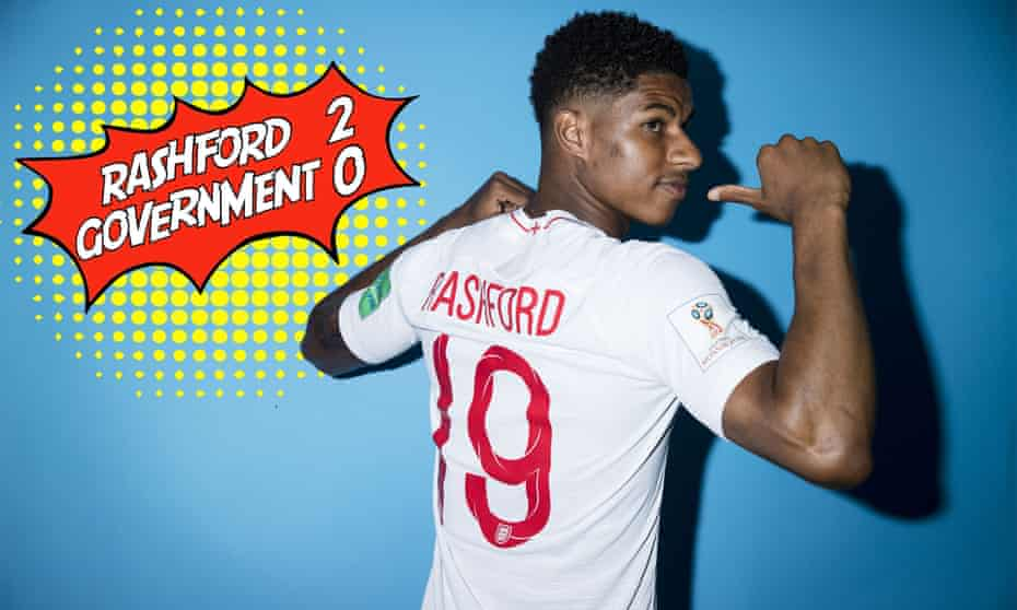 England Portraits - 2018 FIFA World Cup RussiaMarcus Rashford of England poses during the official FIFA World Cup 2018 portrait session at on June 13, 2018 in Saint Petersburg, Russia.