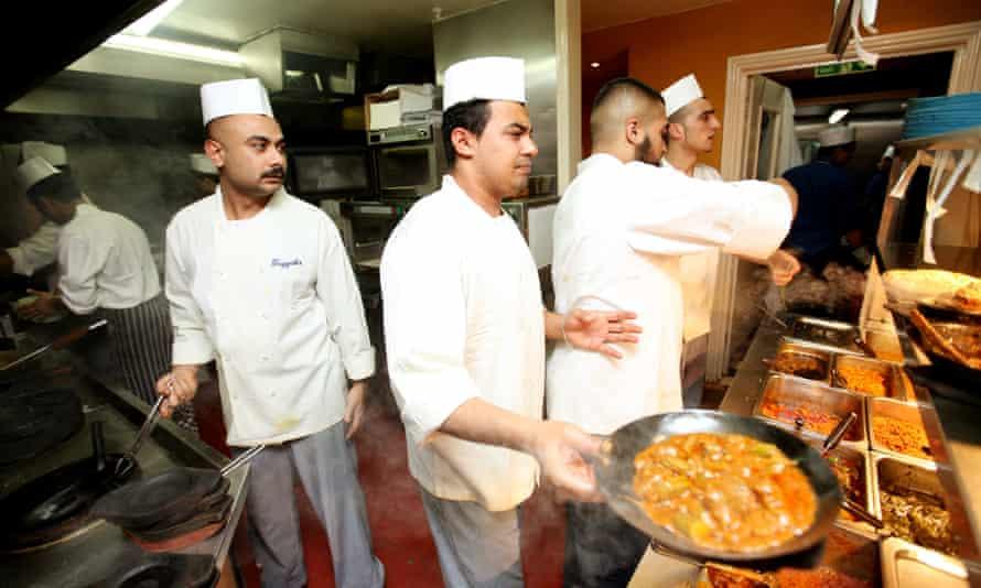 Tayyab's curry restaurant, Fieldgate street, London