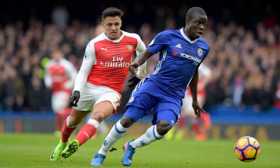 Kanté helped Chelsea defeat Arsenal last Saturday, keeping them nine points clear at the top of the Premier League.