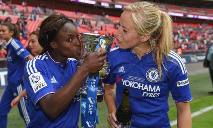 Chelsea's Emma Hayes keeps FA Cup final winners focused on