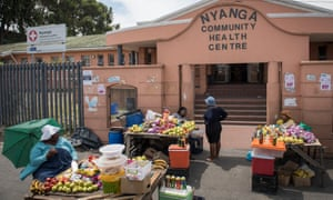 Nyanga health centre in Cape Town, South Africa