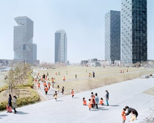 The New Songdo international business district in South Korea