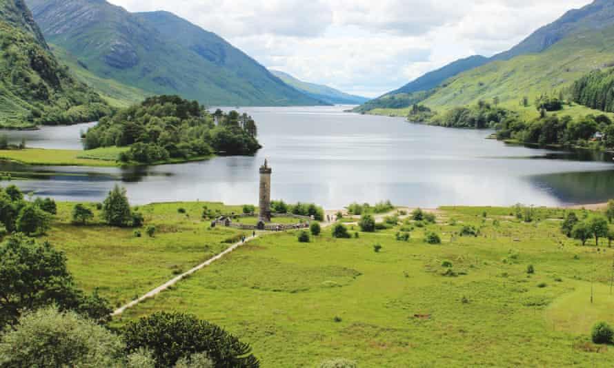 The Glenfinnan monument