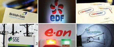 The big six firms