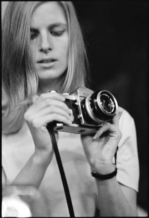 Linda McCartney taken by Eric Clapton. 1967