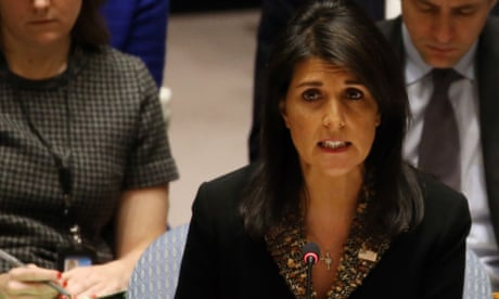 US outnumbered 14 to 1 as it vetoes UN vote on status of Jerusalem