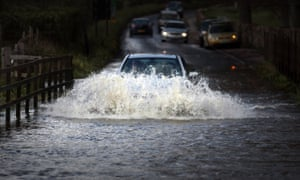 Flooding in south-west Wales