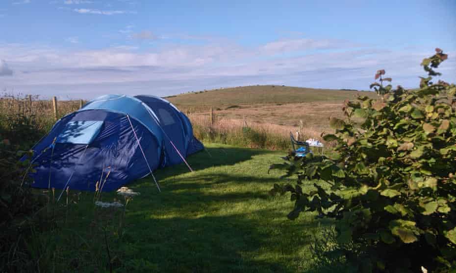 North Rhinns Camping, Leswalt, Scotland