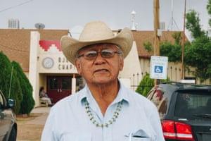 Daniel Tso, a Navajo grassroots activist.