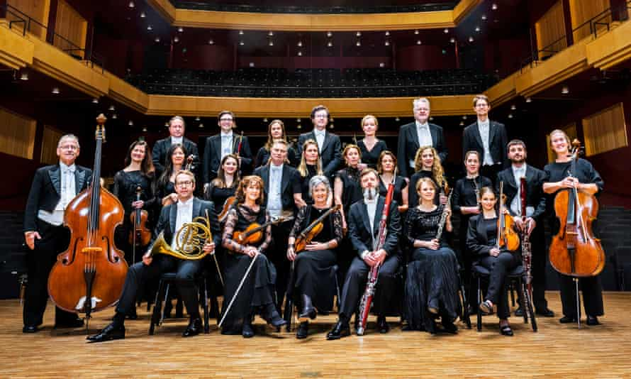 Total engagement … Sweden's Västerås Sinfonietta.
