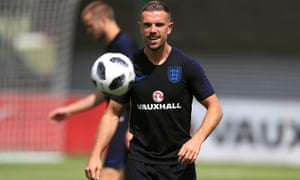 Jordan Henderson was given extra time off after the Champions League final but will probably play against Costa Rica.