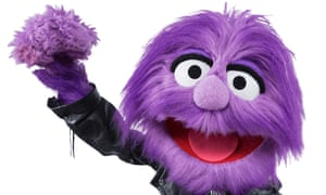 Three's ad campaign starred a Muppet-style character called Jackson.