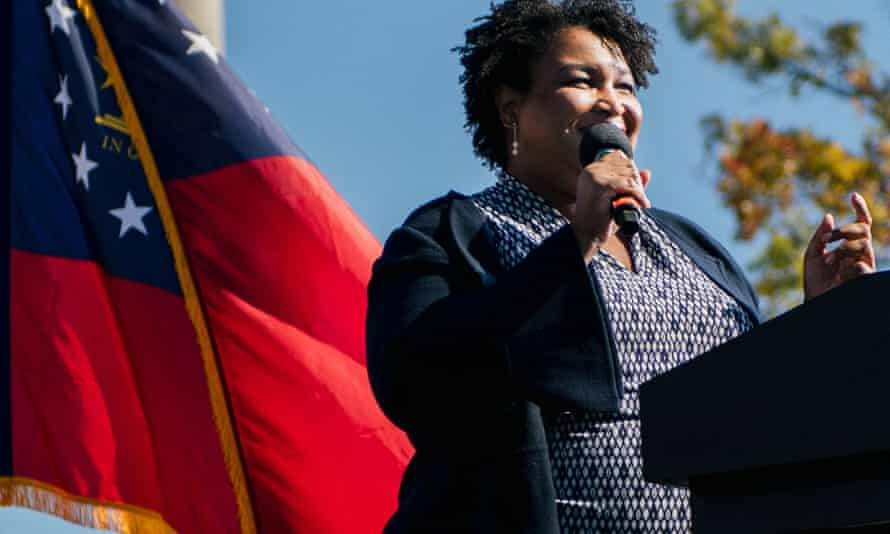 Stacey Abrams has donated a copy of the first of her eight published romance novels to the effort.