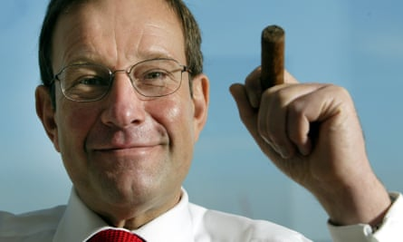 Richard Desmond, previous owner of Express Newspapers