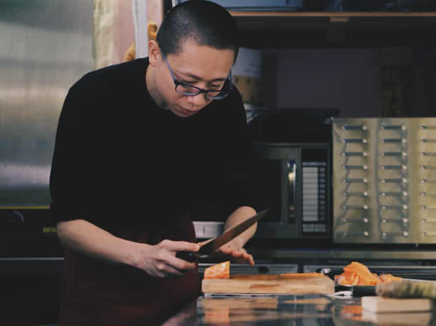 The self-taught chef Bing Cao