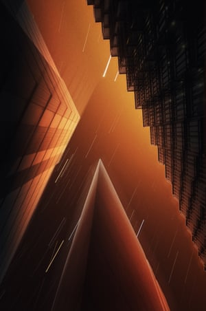 Half Life by Nikola Filipov<br>Low angle long exposure shot in London