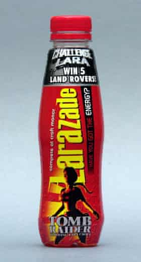 Let's get fizzical … Lucozade renames its drink.
