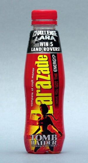 Let's get fizzical … Lucozade renames its drink.