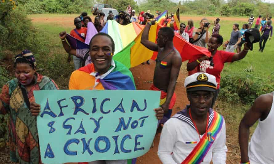 Uganda's first Pride celebration in 2012
