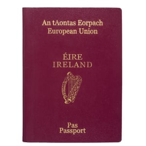 An Irish passport.