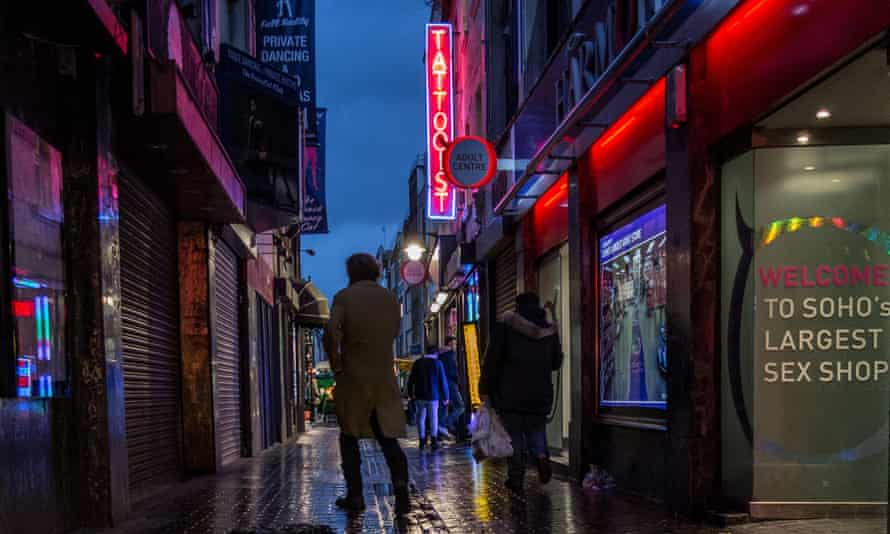 Red light district, London