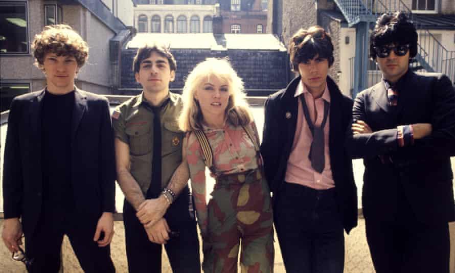 Blondie in 1976.