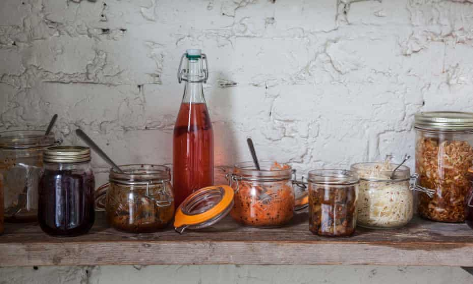 Stored in a cool place in sterilised jars, these pickles will last for months – and they're really healthy.