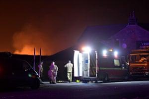 The fire on Saddleworth