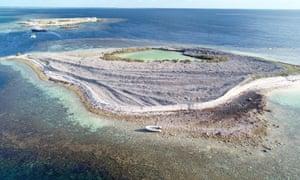 Burton Island off Western Australia.