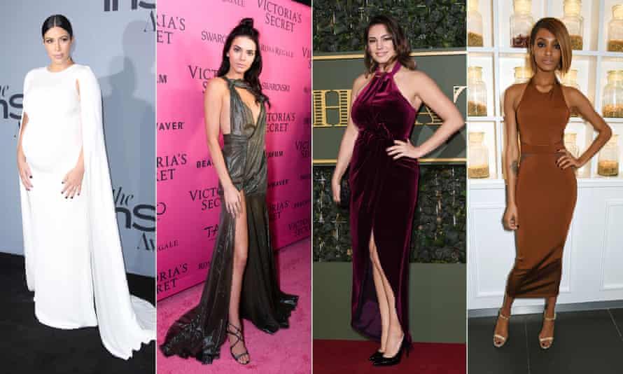 Kim Kardashian, Kendall Jenner, Kelly Brook and Jourdan Dunn