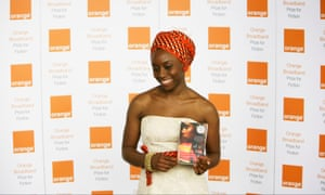 Chimamanda Ngozi Adichie, winner of the Orange Prize for fiction 2007, for her novel Half of a Yellow Sun.