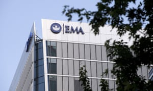 The EMA, currently headquartered in Canary Wharf, London.