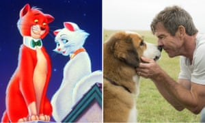 Claws out … The Aristocats and A Dog's Purpose