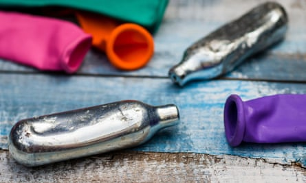 Laughing gas is used as a recreational drug.