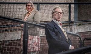 Squatters … Steve Pemberton and Reece Shearsmith in The League of Gentlemen