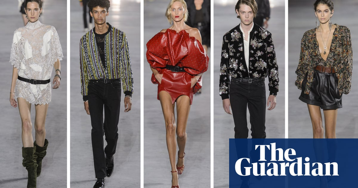 3c230881d54411 Paris fashion week spring summer 2018  the key shows – in pictures ...