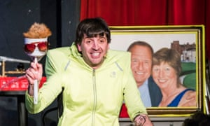 'Always another sweetly silly visual gag brewing' … Spencer Jones at Soho theatre.