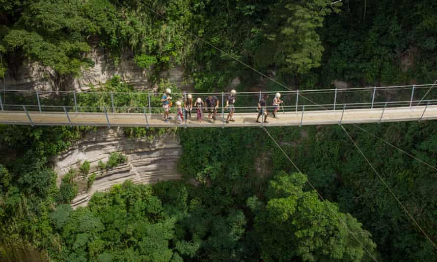 Mike Thompson's Vanuatu zipline business is running at only 4% of its previous capacity. He fears the financial stress will tear the community's social fabric apart.