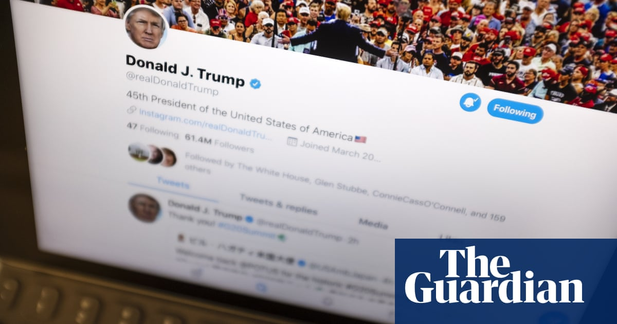 Trump tweets his way to a record on impeachment day