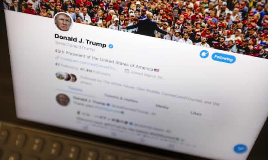Donald Trump has been an avid Twitter user throughout his presidency, tweeting a record 131 times on Wednesday.
