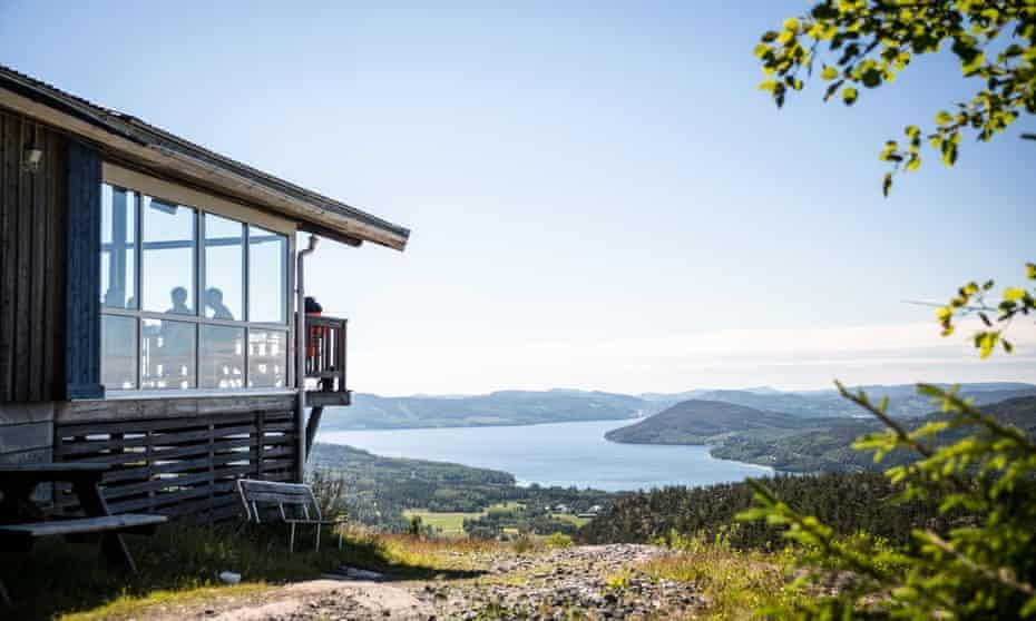 Skuleberget, FriluftsByn Top Cabin, Sweden