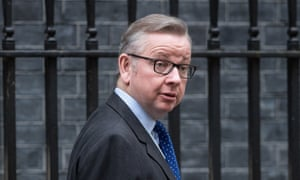 Michael Gove said barristers feared a 'commercial model' for criminal law firms could affect quality of work