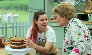 The Great British Bake Off (2018) Episode 7 Episode 7, Showstopper Bake; Sandi with Manon baking