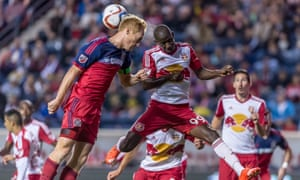 New York Red Bulls went down 3-2 to Chicago on Wednesday.