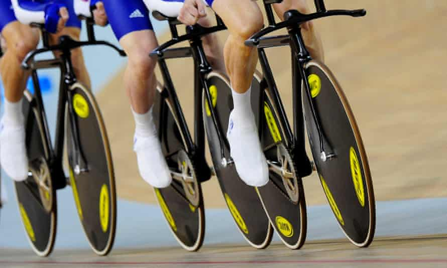A British cyclist reportedly gave a positive test before the London 2012 Games.