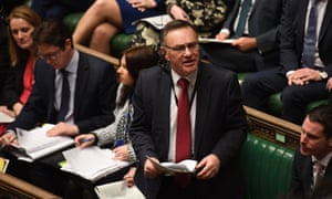 Whittaker at PMQs in January