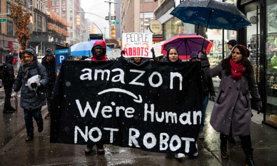 'Amazon is putting cameras in the trucks of its delivery drivers, monitors on the bodies of its warehouse workers, and security cameras both inside and outside its facilities.'